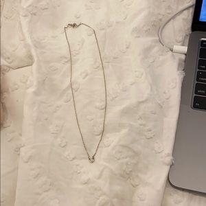 Tiffany Bezel diamond necklace